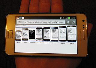 Smartphones (courtesy Wikimedia)