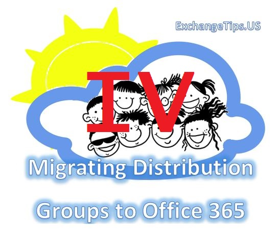 Migrate your Exchange distribution groups to Office 365.