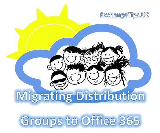 Migrating Exchange distribution groups to Office 365.